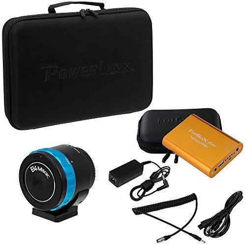 Fotodiox Pro PowerLynx 12 Pin Kit B4 Lens to MFT Black Magic