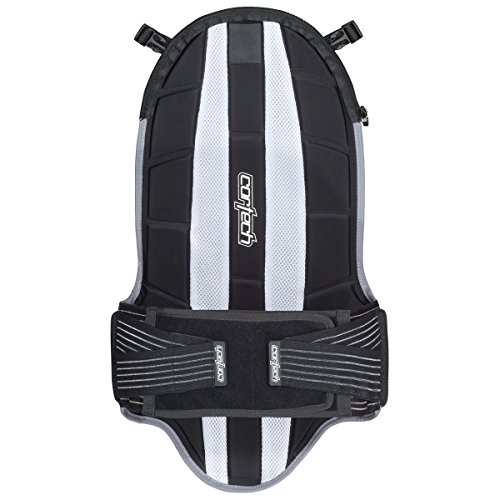 Cortech Accelerator Removable 5-Plate Back Protector, Black by Cortech (Image #1)