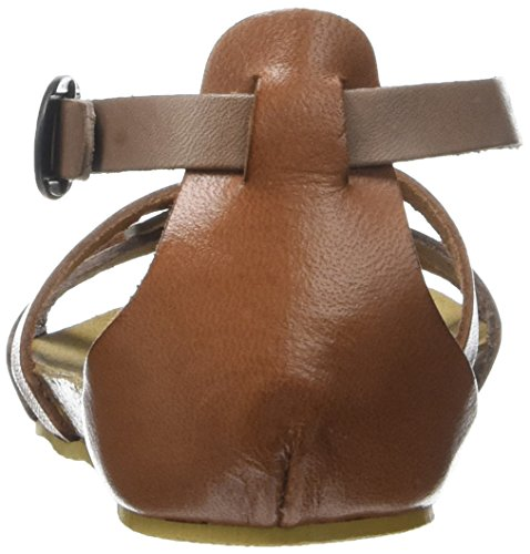 Kickers Mädchen Bomtardes Peep-Toe Marron (Marron Bronze)