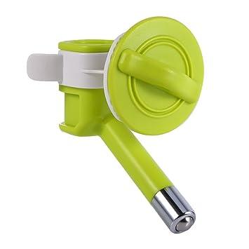 Dispensador de agua automático, fuente de agua fresca para perro o gato, boquilla para bebida suspendida, fuente alimentador, de plástico: Amazon.es: ...