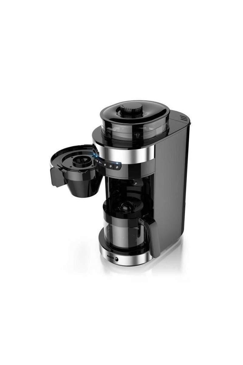 FAGOR FG201 Cafetiere filtre avec broyeur a café: Amazon.es ...