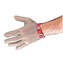 Chainmail Glove Small Size S/Steel - Nylon Strap