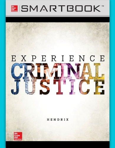 SmartBook for Experience Criminal Justice