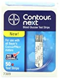 Bayer Contour Next Blood Glucose Test Strips, 50ct.  4PK
