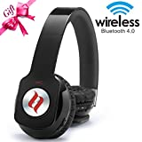 Noontec ZOROW-BLK Wireless Fashion Hi-Fi Headphones - Black