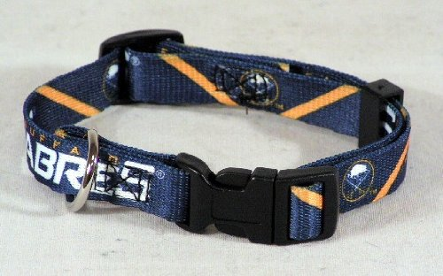 Hunter MFG Buffalo Sabres Dog Collar, Extra Small, My Pet Supplies