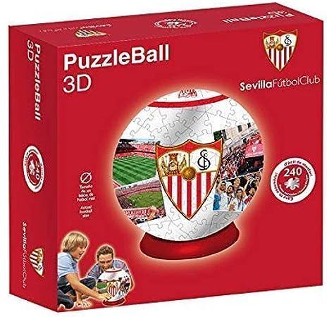 Sevilla FC Puzzleball (Tamaño Balón) 8,4 (10605), Multicolor: Amazon.es: Juguetes y juegos