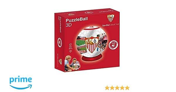 Sevilla FC Puzzleball (Tamaño Balón) 8,4 (10605), Multicolor ...