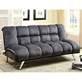 Best Furniture of America Amazon sofa bed - Furniture of America Lennie Champion Fabric Convertible Sofa Review