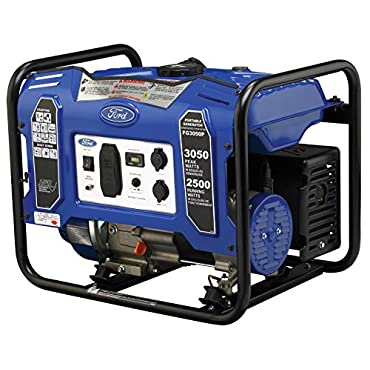 Ford FG3050P M Series 3050W Peak 2500W Rated Portable Gas-Powered Generator
