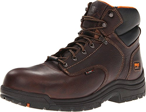 Timberland PRO Mens 90665 Work Boot, Dark Brown, 44.5 D(M) EU/10 D(M) UK