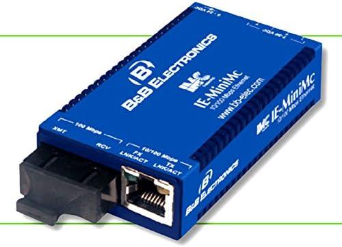 10//100Base-TX 100Base-FX 1 x RJ-45 TP-TX//FX-MM1300-SC B/&B//IMC IE-MiniMc 1 x SC Duplex Wall-mountable 125584B