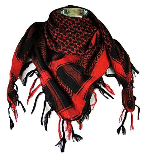 Neck Scarf - Red/Black ()