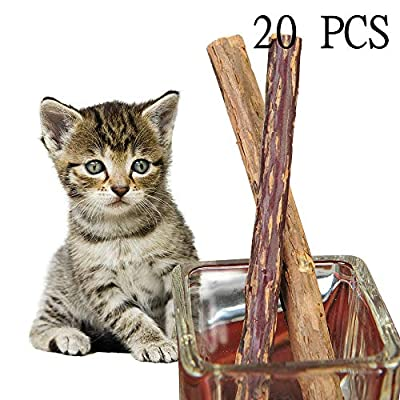 CatNip for Cats Hohayo Cat Catnip Sticks Chew Toys Cat Toys Matatabi Silvervine... [tag]