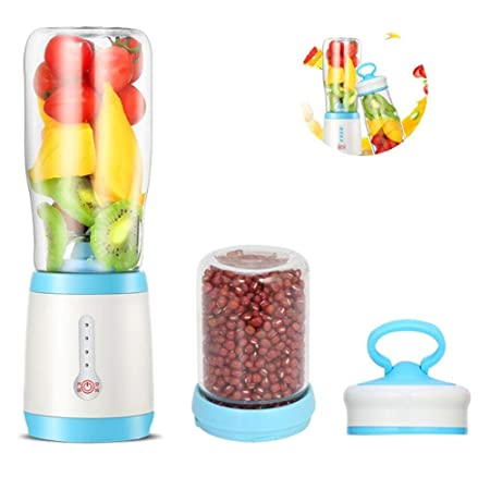 SZJJI Mini Batidora para Smoothie con 6 Cuchillas 500 ml de ...