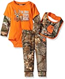 Carhartt Baby Boys' Sets, Realtree Xtra Brown Buck Stop, 12 Months