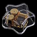MonkeyJack Acrylic Clear Musical Mechanism Music Box Wedding Home Decor Gift, Elfen Lied