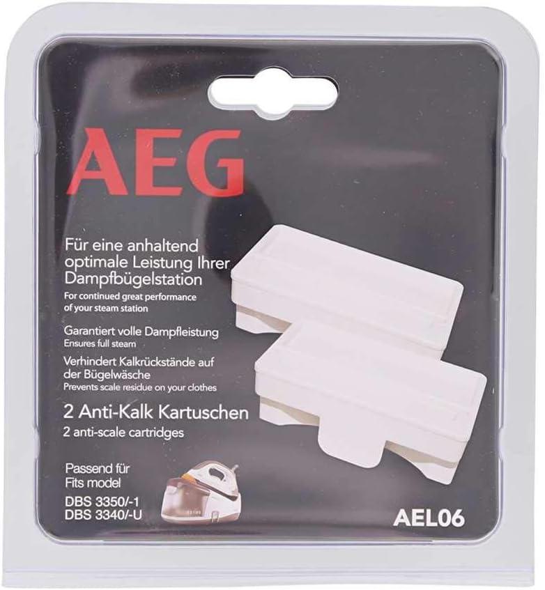 2 Anti-Kalk-Patronen Passend u.a für AEG DBS 3340 3350 3350 3350-1 AEG AEL06
