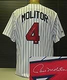 Paul Molitor Autographed Minnesota Twins Jersey