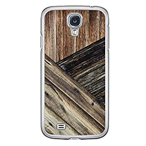 Loud Universe Samsung Galaxy S4 Madala N Marble A Wood 8 Printed Transparent Edge Case - Brown