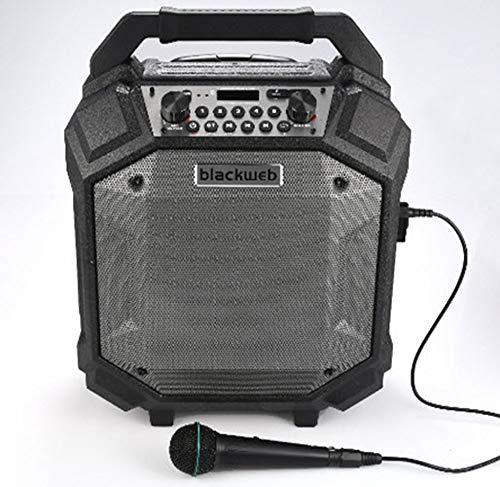 BlackWeb BWA17AA006 Bluetooth Party Speaker, ()