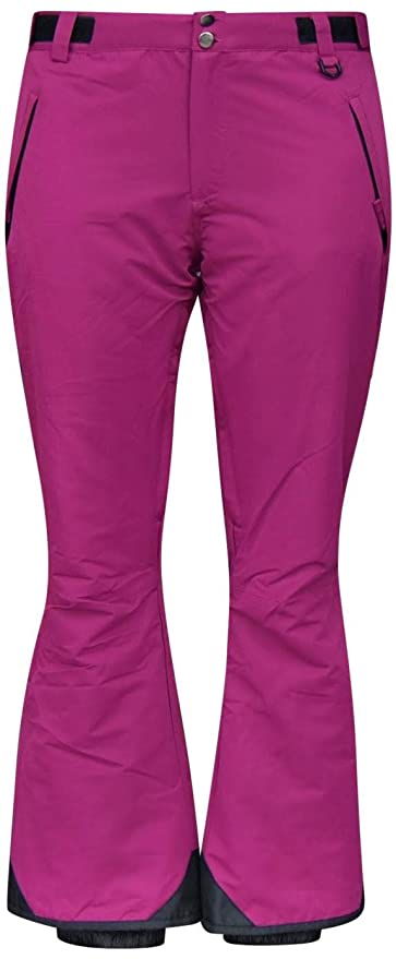 Amazon.com   Snow Country Outerwear Womens Plus Size Snow Ski Pants ... 0137038df