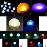 Purple : Floating Ball Light Pool/Christmas/Party/Garden/Wedding Decor Light Set of 12Pcs