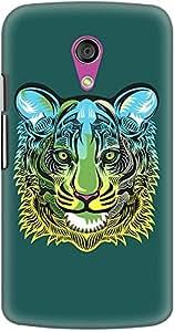 DailyObjects Tiger Green Case For Motorola Moto G2