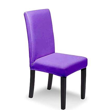 Pawaca 4pcs Fundas para sillas, Estirable Cubiertas de la sillas ...