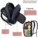 Laptop Backpack with USB Charging Port,Slim Travel