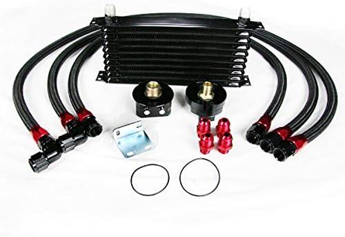 Universal Engine Transmission Oil Cooler Kit Oil Filter Relocation Kit Function