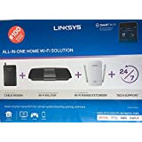 Linksys AC1600 Wi-Fi Wireless Dual-Band + Linksys CM3008 High Speed DOCSIS 3.0 8x4 Cable Modem