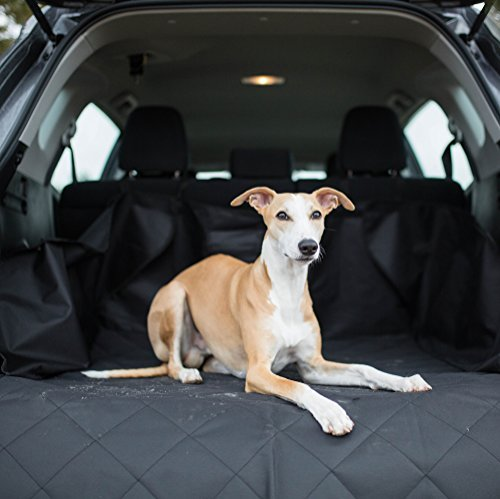 MADY Quilted Dog Cargo Liner Cover for SUV, Pet Seat Cover, Universal Fit for most Cars, Trucks & SUVs, - Why Should We Donate