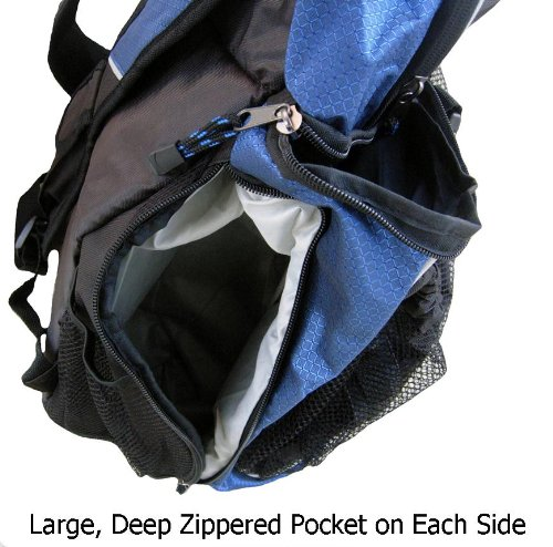 Sports Athletic Backpack w/ Pocket for Team Soccer Ball, Basketball, Volleyball