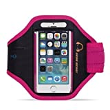 Gear Beast Sport Gym Running Armband with Key Holder and Free Strap Extender for iPhone SE, iPhone 5s, iPhone 5, iPhone 5c, iPhone 4s, iPhone 4 and iPod Touch 5G
