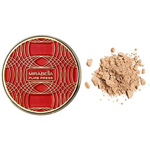 Mirabella Pure Press Mineral Powder Foundation Travel Size - Mirabella Pure Press Iii