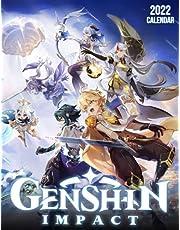 Genshin Impact 2022 Calendar: OFFICIAL game calendar. This incredible cute calendar january 2022 to december 2023 with high quality pictures .Gaming calendar 2021-2022. Calendar video games