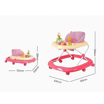 W-J-S-ZXQ Andador | Vuelco Carro | Bebé Multifunción Walker | Bebé ...