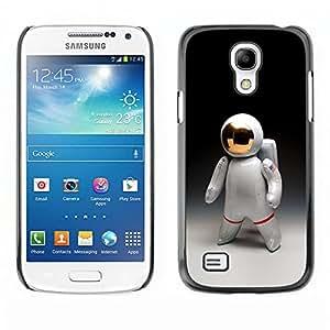 Shell-Star Art & Design plastique dur Coque de protection rigide pour Cas Case pour SAMSUNG Galaxy S4 mini VERSION! / i9190 / i9192 ( Astronaut Man Cosmonaut Space Suit )