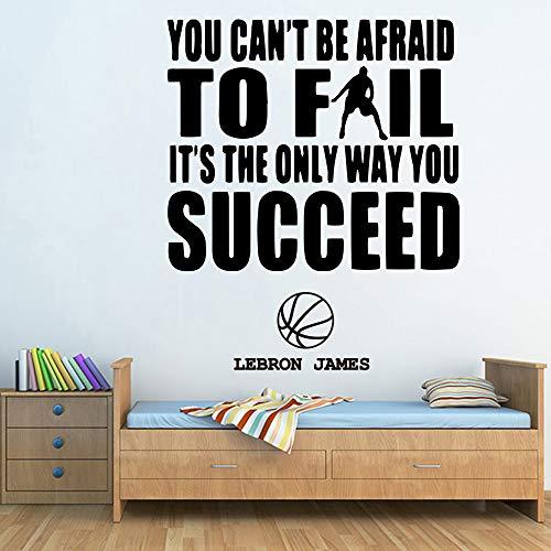 Lebron James Citas motivacionales Etiqueta de la pared ...