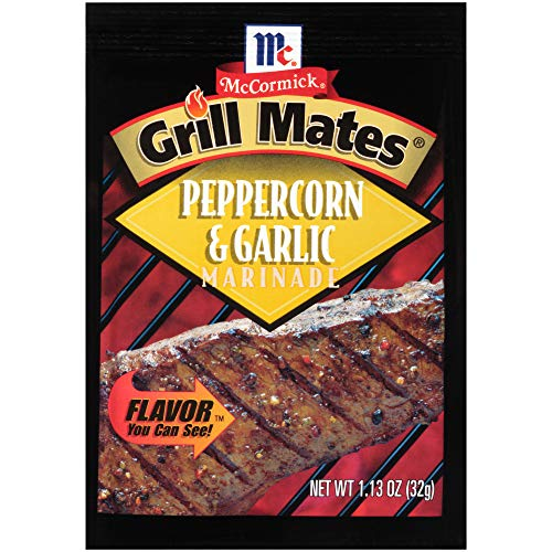 (Case of Grill Mates Peppercorn & Garlic Marinade (12 Total))