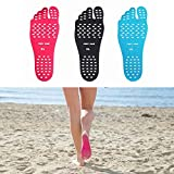 Fenta Barefoot Invisable Shoes Insole Stick For Beach Wear Yoga Spa Indoor Wear