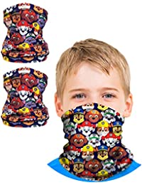 Boys Paw Patrol Gaiter Face Mask with UV Sun Protection (2 Pack)