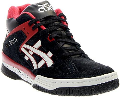 ASICS Gel-spotlyte Retro Basketball Shoe, Black/White, 11.5 M US