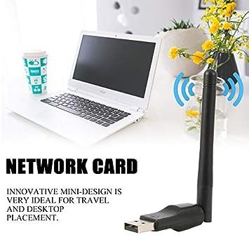 camellia-uk - Adaptador de Red WiFi inalámbrico (150 m, USB para Ordenador portátil, Receptor WiFi, Antena de conexión Wi-Fi Externa): Amazon.es: ...
