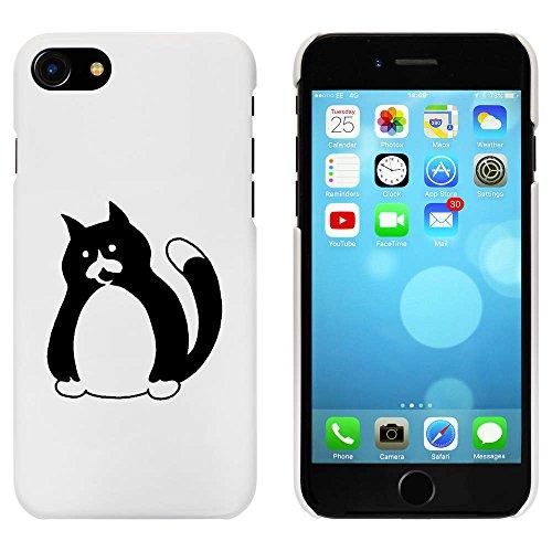 Blanc 'Chat' étui / housse pour iPhone 7 (MC00060250)