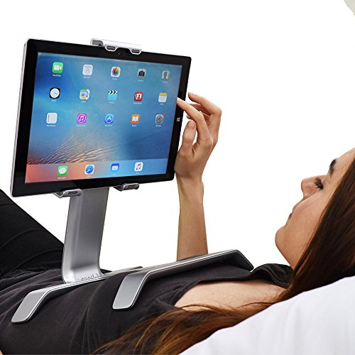 TSTAND IPad Stand Holder for Bed Tablet - Multi-Use, Universal, Compact, Durable for Bed Car Desk Couch Airplane - Fits All tablets (7