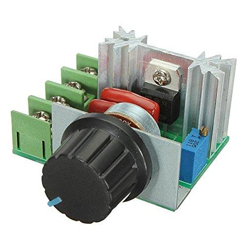 2000W 50V - 220V Tension ajustable Régulateur PWM AC Motor Speed ??Controller