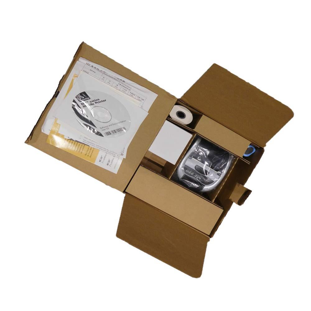 Zebra MZ220 Wireless Mobile Thermal Receipt Printer M2E-0UB0E020-00 Bluetooth /& USB