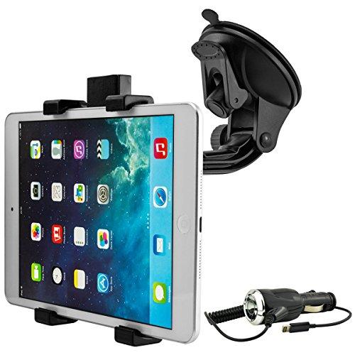 Universal KFZ-Halterung für Apple iPad Mini / Mini 2 / Mini 3 / Mini 4 inkl. KFZ-Ladekabel